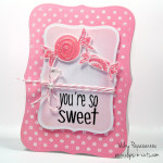 How about a girly card?!