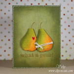 Weekend Card – What a pear