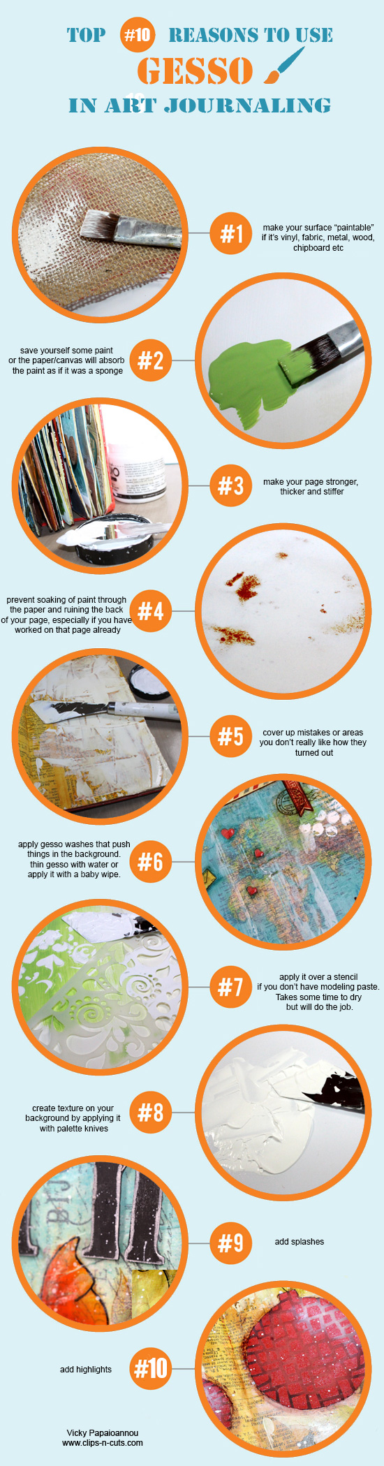 10 reasons to use gesso