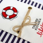 Nautical card and Giveaway Winner