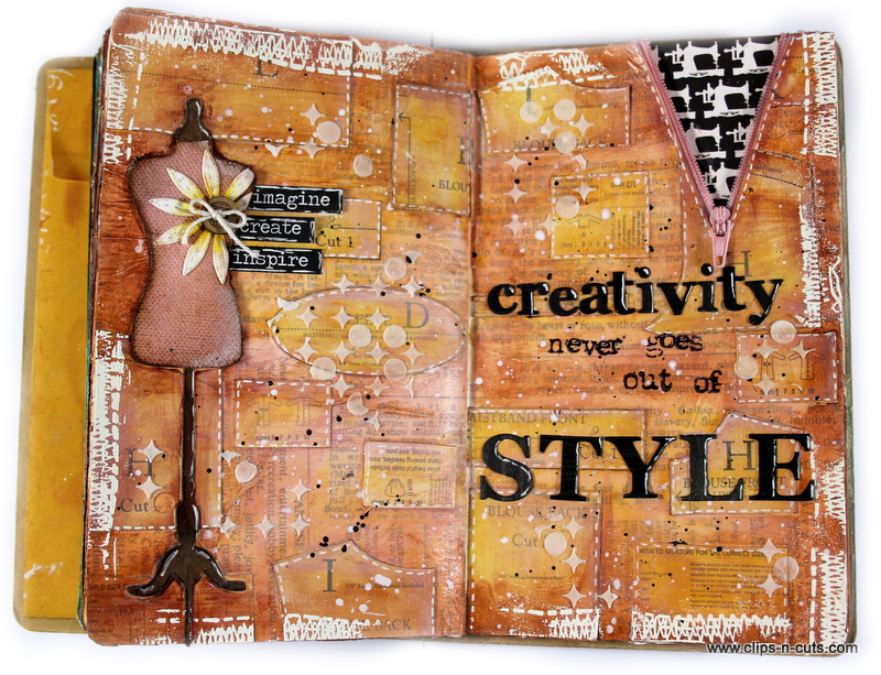 style dress quote layout