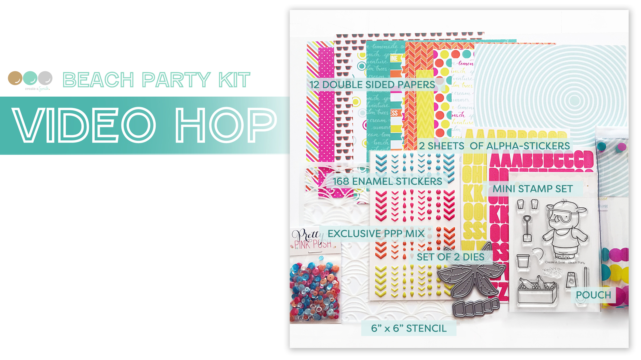 Beach Party Kit Video Hop Intro-graphic