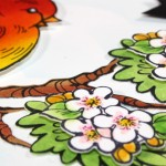 Spring Card | coloring with distress inks