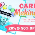 Sale on cardmaking supplies!