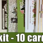 1 kit – 10 cards | November card kit & GIVEAWAY