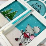 Winter window card | Giveaway