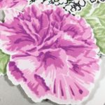 Carnation card and Giveaway
