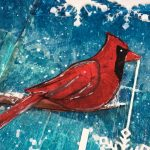 Art Journal | Winter cardinal