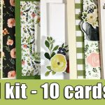 1 kit – 10 cards | March 2018 | Giveaway