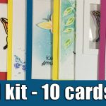 1 kit- 10 cards | SSS April Card kit