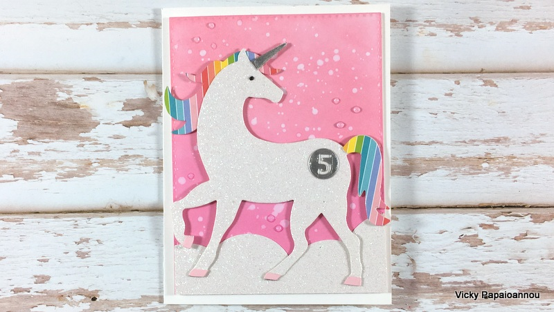 sizzix unicorn card