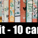 1 kit – 10 cards | May 2018 | GIVEAWAY