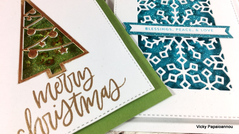 holiday window cards