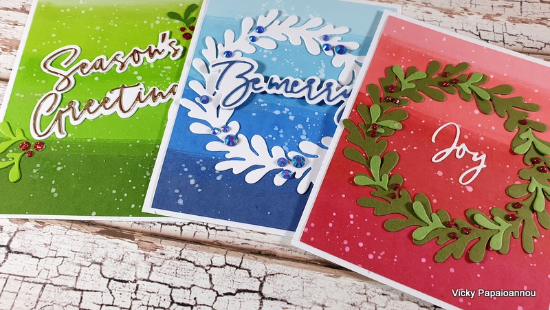 ombre cards