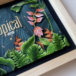 shadow box tropical