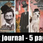 vintage art journal