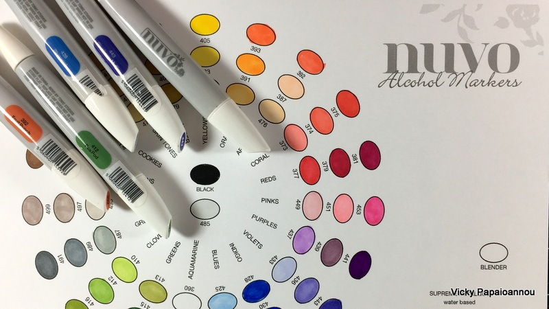 If You Want The Color Chart To Print And Swatch Your Markers It Is Available By Tonic Studios In Their Facebook Group Here Will Find There A Ton Of